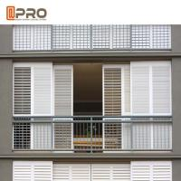 Buy cheap Residential Buildings Aluminium Louver Window With Powder Coating And Anodised product