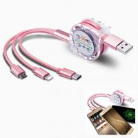 China Promotional Multi-functional USB stretch cable TPE logo customized on sale