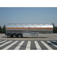 Buy cheap 46000 Liters Aluminum Fuel Oil Tank Trailer With 12T BPW 3 axles Petroleum Tanker Trailers product