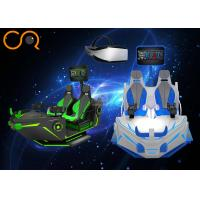 Boat Shape 9D Virtual Reality Shooting Simulator With Interactive Games