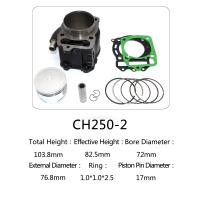 Buy cheap Honda Motorcycle Cylinder Kit  , Water Cooled Cylinder Block Kit CH250 product
