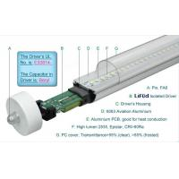Buy cheap 1800LM Epistar 4 Foot T8 LED Tube Lights 19W Fa8 Single Pin , LED T8 Replacement Tubes product