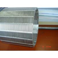 Buy cheap Cylindrical Element / rotary drum screen / intake strainer screen cylinder / profile wire screen cylinder product