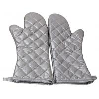Buy cheap Safety Heat Proof Oven Mitts , Kitchen Oven Gloves Flexibility Extra Long product