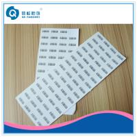 Buy cheap Destructible Security Label , Anti-Counterfeiting Die Cut Vinyl Stickers product