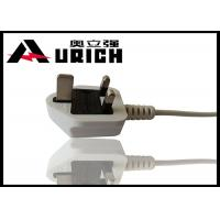Buy cheap UK BS 1363 Plug 3 Prong TV Power Cord , Three Prong Appliance Cord For Laptop product