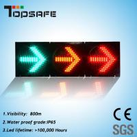 Buy cheap 300mm LED Traffic Semaphore Light with Arrow (TP-FX300-3-303) product