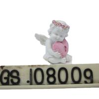 Buy cheap Custom Cheap Resin Decorative Lovely Resin Baby Angels Figurine Resin Hug Heart Cupid Ornament product