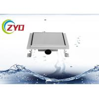 Buy cheap 3.5 Inch Stainless Steel Floor Drain Large Flow Flange Edge Smooth Surface product
