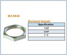 Buy cheap brass plumbing fitting backnut product