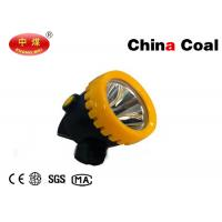 Buy cheap High Power LED Miner Cap Lamp 10000Lux 3Ah Roduct  Light Weight Push Button Operation product