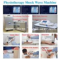 China BS-SWT2X physiotherapy shockwave ESWT pain relief shock wave machine therapy soft tissue scar on sale