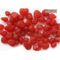 Buy cheap Sweet Nuts dry Strawberry , Healthy freeze dired strawberry without additives from wholesalers