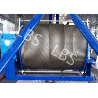 Buy cheap 20 Ton 50 Ton Electric Wire Rope Winch Steel Cable Industrial Electric Winch product