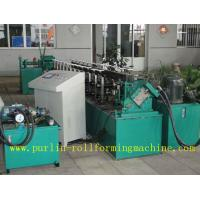 Buy cheap Channel Stud And Track Roll Forming Machine for Overhead Rail / Hanger Runner product