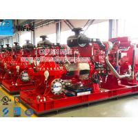 Buy cheap Firefighting Use Fire Pump Set With Split Case Fire Pump And Diese Engine product