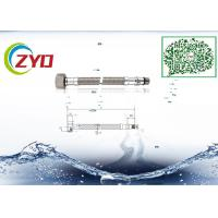 Buy cheap Home Kitchen Faucet Supply Lines, Good Seal Flexible Stainless Steel Braided Hose product