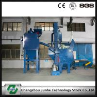 Quality Automatic Shot Blasting Machine / Industrial Shot Blasting Equipment High Efficiency for sale