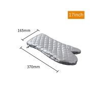 Buy cheap Bakest Factory Price Silver Coated Fireproof Baking Microwave Cotton Cheap Custom Oven Mitts product