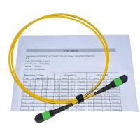 Quality 8f 12f 24f Singlemode Multimode MPO/MTP to LC MPO breakout cable for sale