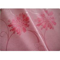 "Buy cheap Beautiful Pink Flower Polyester Elastane Fabric Cloth 57"" / 58"" Width product"