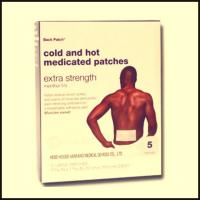 Buy cheap cold & hot medicated patch for men and lady product