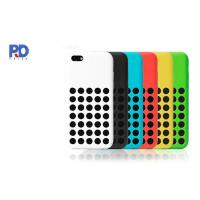 Buy cheap Cell Phone Case For iPhone 5C Silicone Hole Protective Cover product