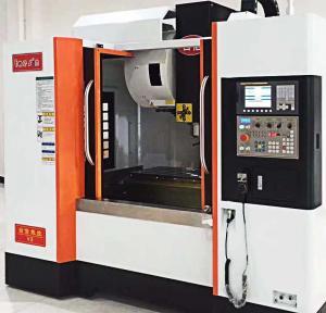 Wide Range Precision CNC Machining Center PMI Guide Way 3 Axes Motor