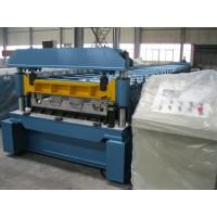 Buy cheap 1219mm Width Metal Deck Roll Forming Machine / Cold Steel Roll Forming Machinery product