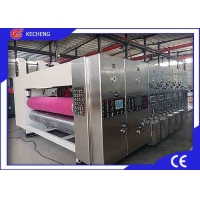 China Water Ink Steel Cover Flexo Printer Slotter Die Cutter on sale