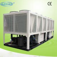 Custom Heat Recovery Air Cooled Water Chiller , Electrical Air Conditioner Chiller