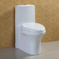 Buy cheap Floor Standing One-Piece Ceramic Toilet (AT-572) product