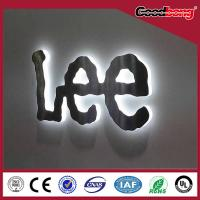 Buy cheap Doubleside 3D LED aluminum signs/acrylic vacuum forming mirror signs/metal alphabet signs product
