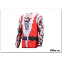 Quality Breathable Men T-Shirt, Colourful Scrawl Printed Tees Eyelets Mesh Blend Long for sale