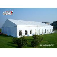 Buy cheap Large Aluminum Outdoor Party Tents With White PVC Roof Cover For 500 People Events product