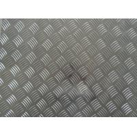 Buy cheap 1060 1100 3003 Aluminum Checker Plate , 0.8mm- - 10mm Thickness Embossed Aluminum Sheet product