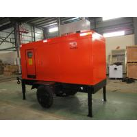 Buy cheap Rating Blushless Mobile Electric Generator , Mobile Generator Set With Cummins 6BTAA5.9-G12 product