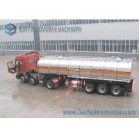 Buy cheap Ammonium Mitrate Oxidatioin Fuel Tank Trailer , 28000L 3 Axle Stainless Steel Tanker Trailers product