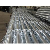 China Ringlock  Scaffold Standard with hot-dip galvanized  For Outdoor Repairing wholesale