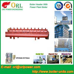 Buy cheap Industrial Steam CFB Boiler Header / Low Loss Headers Low Pressure product