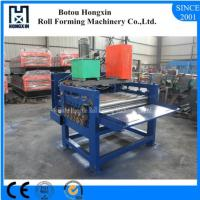 Buy cheap Hydraulic Pump Cold Roll Forming Machine 1250mm Raw Material Width product