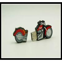 Buy cheap Promotion pvc motorcycle shap custom ballon gift usb flash drive 2-32GB with your logo product