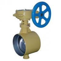 China Exhaust Tri Clamp Butterfly Valve , Double Flanged Butt Weld Butterfly Valve on sale