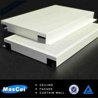 Buy cheap Aluminum Perforated Panels for Acoustic Hospital Ceiling Tiles product