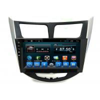 Buy cheap Android 2 Din Radio System GPS Auto Navigation Verna Accent Solaris Car Video Audio Player product