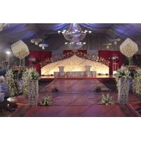 Huge White Outdoor Event Tent , Outdoor Party Tents Wedding Tent with Luxury Decoration For Weddings