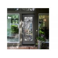 Buy cheap Antique Decorative Panel Glass , Solid Flat Tempered Glass Panels For Building product