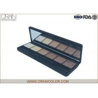 Professional Six Color Shimmer Makeup Eyeshadow Palette With Brush