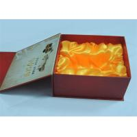 Buy cheap Electronic Products / Wine Printed Gift Boxes With Plastic Tray 250gram / 300gram product