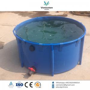 China 1000L Plastic PVC Fish Farming Tank Sell to Philippines on sale